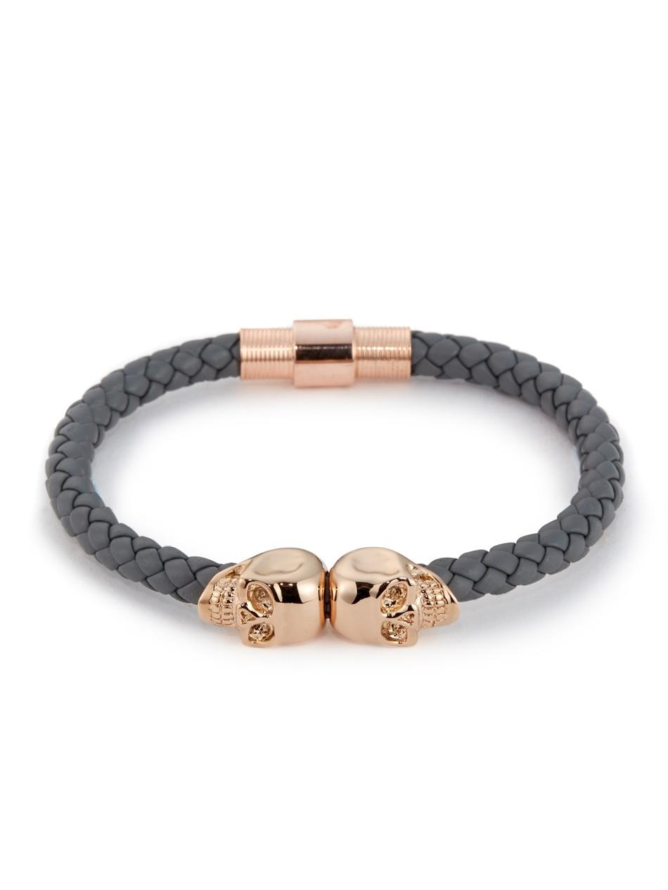 how to close bracelet string skull