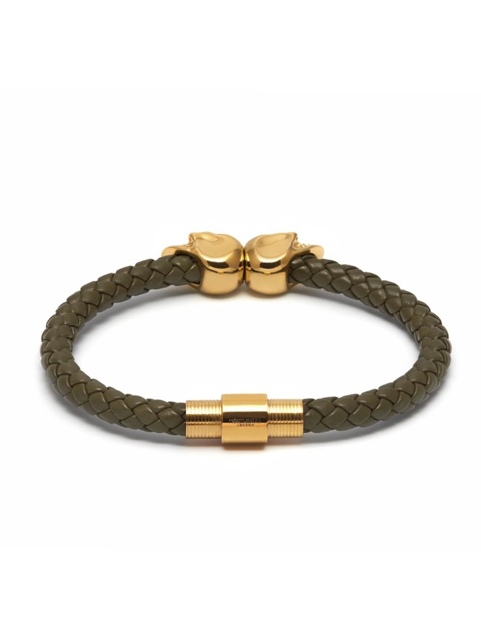 Gold Twin Skull Bracelet image
