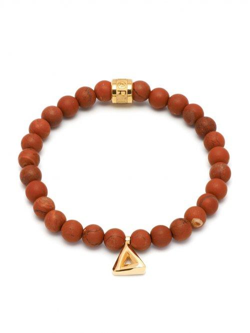 Northskull Jasper bracelet - Red ue40NMZJmE